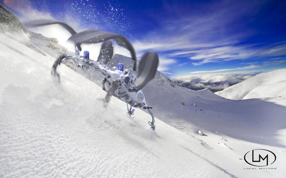 Snow-Hornet-slope